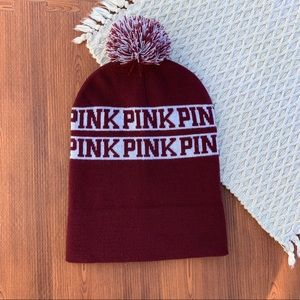 Pink Beanie Wine Color